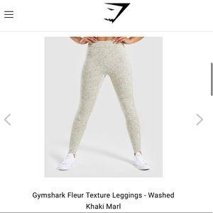 New Gymshark Fleur Leggings